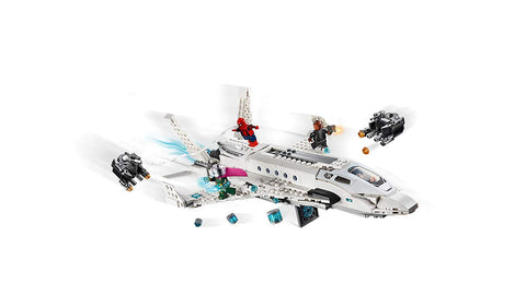 Spider-Man Far From Home: Stark Jet and the Drone Attack 76130-4
