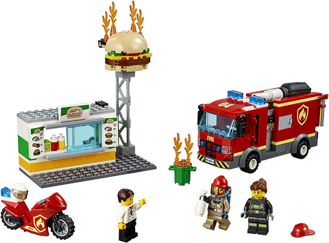 City Burger Bar Fire Rescue 60214-3