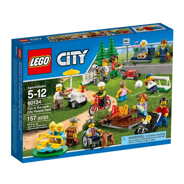 LEGO City Town Fun in the Park - City People Pack 60134 brickskw bricks kw kuwait