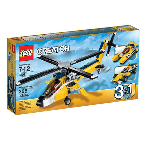 Creator Yellow Racers 31023-1