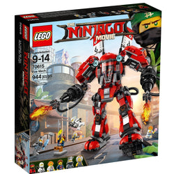 LEGO Ninjago Movie Fire Mech 70615 brickskw bricks kw kuwait online