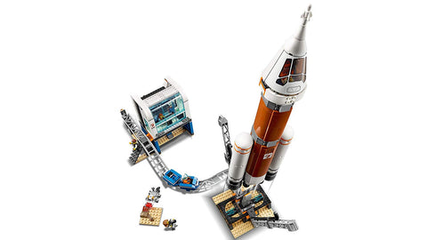 City Deep Space Rocket and Launch Control 60228-4