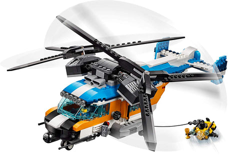 Creator Twin Rotor Helicopter 31096 3in1-5