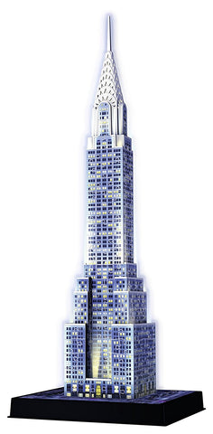 Ravensburger Chrysler Building 3D Puzzle Night Edition 125951-2