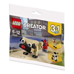 Lego Creator 3in1 Pug, Turkey, and Koala Bear 30542