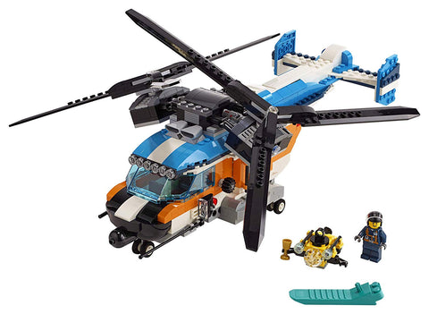 Creator Twin Rotor Helicopter 31096 3in1-3
