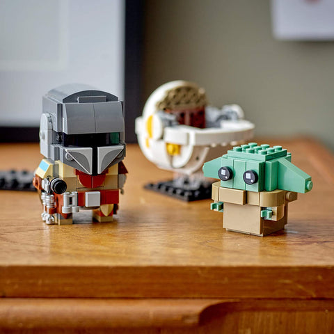 BrickHeadz Star Wars The Mandalorian & The Child 75317-6