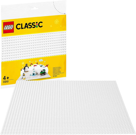 Classic White Baseplate 11010