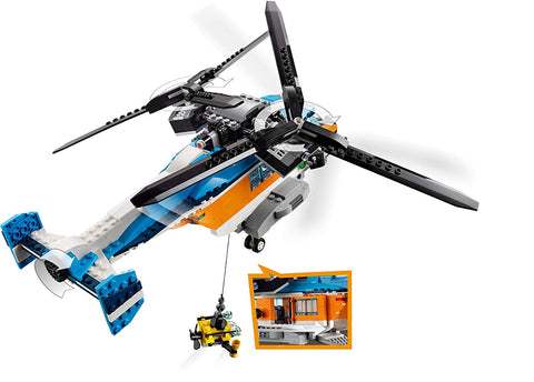 Creator Twin Rotor Helicopter 31096 3in1-4