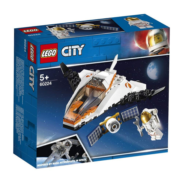 LEGO City Satellite Service Mission 60224 Building Kit, New 2019 brickskw bricks kw kuwaiit online store shop