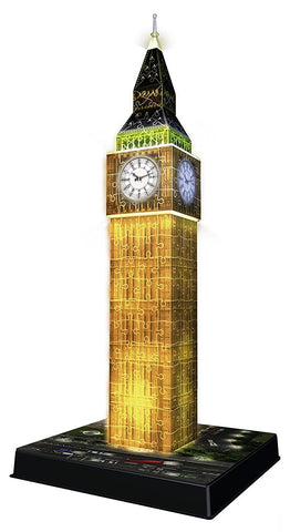 Ravensburger Big Ben - Night Edition - 3D Puzzle 125883-2