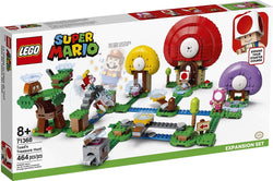 LEGO Super Mario Toad's Treasure Hunt Expansion Set 71368 Building Kit; Toy for Kids to Boost Their LEGO Super Mario Adventures with Mario Starter Course (71360) Playset, New 2020 (464 Pieces)  brickskw bricks kw q8 kuwait online store shop website delivery puzzle lego toys play baby kids adult buy avenues jigsaw  الكويت تركيب ليغو ليقو ليجو ذكاء مهارات العاب محل