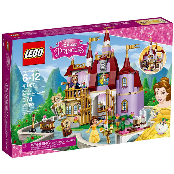 LEGO l Disney Princess Belle's Enchanted Castle 41067 Disney Princess brickskw bricks kw kuwait online