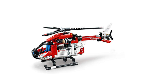 Technic Rescue Helicopter 2in1 42092-5