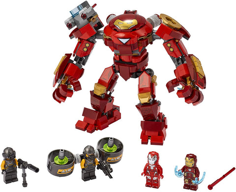 Marvel Avengers Iron Man Hulkbuster Versus A.I.M. Agent 76164-3