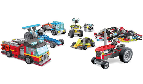 Construx Inventions Wheels Pack 10in1-2
