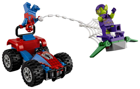 Super Heroes Spider-Man Car Chase 76133-4