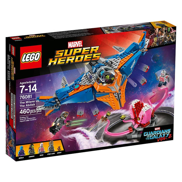 Lego Super Heroes Guardians of The Galaxy The Milano vs. The Abilisk 76081 brickskw bricks kw kuwait online