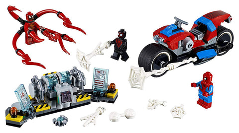 Super Heroes Spider-Man Bike Rescue 76113-3