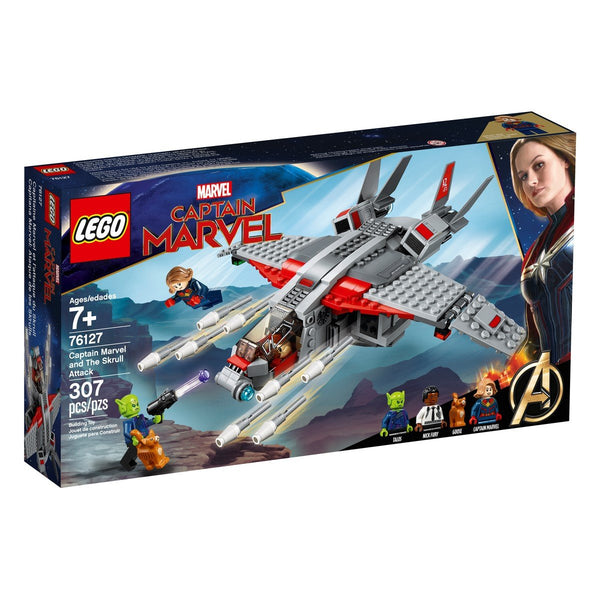 Super Heroes Captain Marvel and The Skrull Attack 76127 brickskw bricks kw kuwait online
