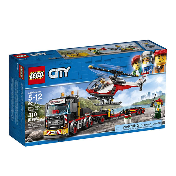 LEGO City Great Vehicles Heavy Cargo Transport 60183 brickskw bricks kw kuwait online