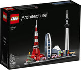 LEGO Architecture Skylines: Tokyo 21051 Building Kit, Collectible Architecture Building Set for Adults, New 2020 (547 Pieces) brickskw briccks kw kuwait online store
