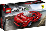 LEGO Speed Champions 76895 Ferrari F8 Tributo Toy Cars for Kids, Building Kit Featuring Minifigure, New 2020 (275 Pieces) brickskw bricks kw q8 kuwait onilne store bricksq8