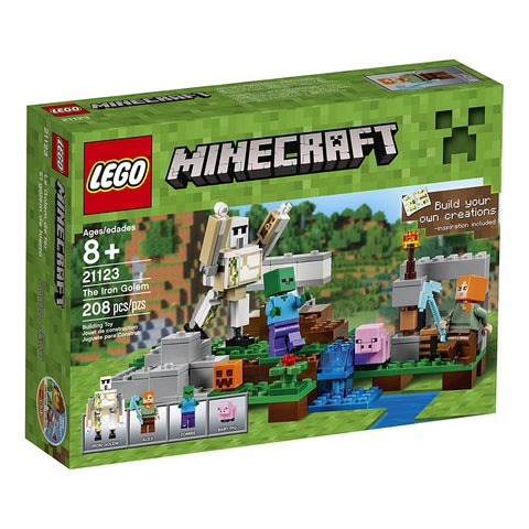 Minecraft The Iron Golem 21123 lego brickskw bricks kw kuwait online