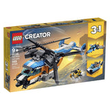 LEGO Creator 3in1 Twin Rotor Helicopter 31096 Building Kit, New 2019 brickskw bricks kw kuwait online store shop