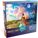 Buffalo Night & Day Paris Love 300 Large Piece Jigsaw Puzzle