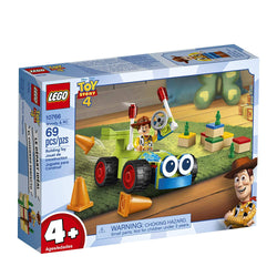 LEGO | Disney Pixar's Toy Story 4 Woody & RC 10766 Building Kit, New 2019 brickskw bricks kw kuwait online store