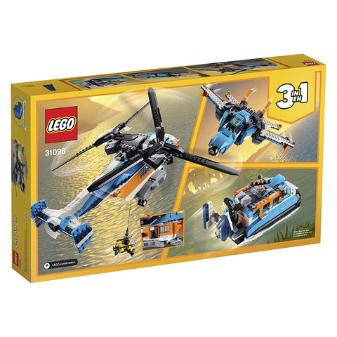 Creator Twin Rotor Helicopter 31096 3in1-2