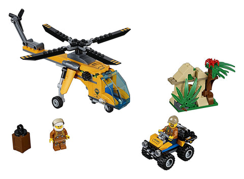 City Jungle Cargo Helicopter 60158-3