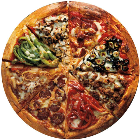 Round Puzzle Pizza Pie-2