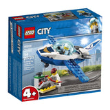 LEGO City Sky Police Jet Patrol 60206 Building Kit , New 2019 brickskw bricks kw kuwait online