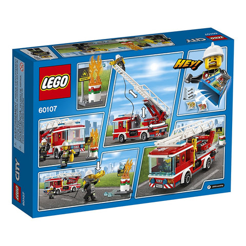 CITY Fire Ladder Truck 60107-2
