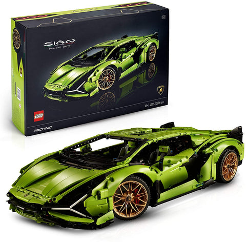 LEGO 42115 Technic Lamborghini Sián FKP 37 Race Car, Advanced Building Set for Adults, Exclusive Collectible Model brickskw bricks kw q8 kuwait online store shop website delivery puzzle lego toys play baby kids adult buy avenues jigsaw  الكويت تركيب ليغو ليقو ليجو ذكاء مهارات العاب محل