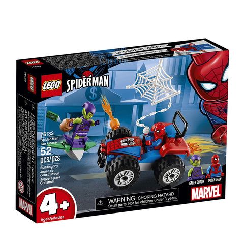 Super Heroes Spider-Man Car Chase 76133-1