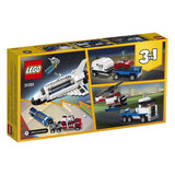 LEGO Creator 3in1 Shuttle Transporter 31091 Building Kit , New 2019 brickskw bricks kw kuwait online