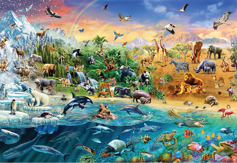 Ravensburger Our Wild World Puzzle 1500 Piece-2