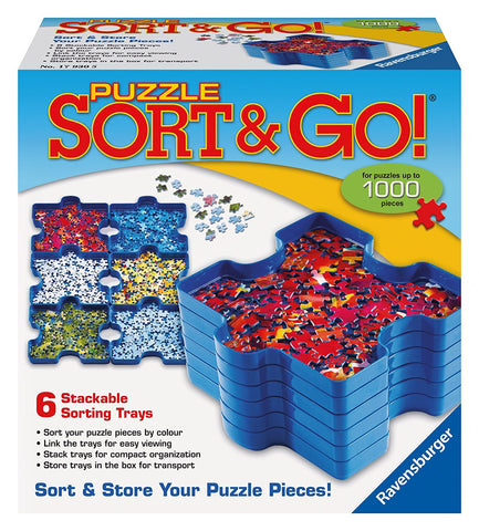 Ravensburger Puzzle Sort and Go Jigsaw Puzzle 179305-1
