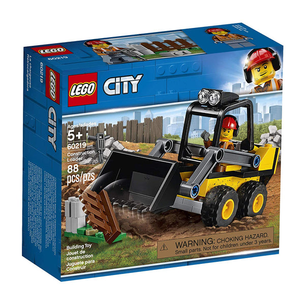 LEGO City Great Vehicles Construction Loader 60219 Building Kit , New 2019 brickskw bricks kuwait online kw