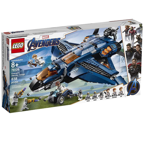 LEGO Marvel Avengers: Avengers Ultimate Quinjet 76126 Building Kit, New 2019 brickskw bricks kw kuwait online store