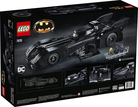 DC Batman 1989 Batmobile 76139-2