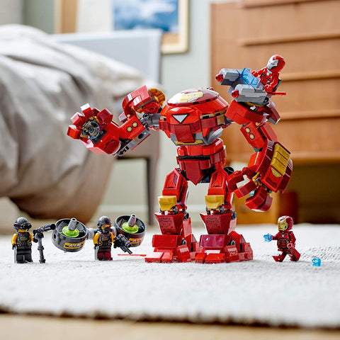 Marvel Avengers Iron Man Hulkbuster Versus A.I.M. Agent 76164-5