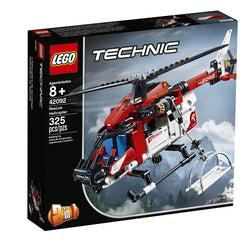 LEGO Technic Rescue Helicopter 42092 Building Kit , New 2019 brickskw bricks kw kuwait online