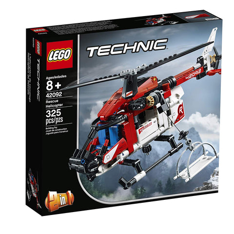 Technic Rescue Helicopter 2in1 42092-1