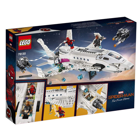 Spider-Man Far From Home: Stark Jet and the Drone Attack 76130-2