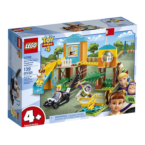 LEGO Disney Pixar's Toy Story Buzz & Bo Peep's Playground Adventure 10768 Building Kit, New 2019 brickskw bricks kw kuwait online store