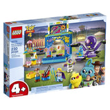 LEGO Disney Pixar's Toy Story 4 Buzz Lightyear & Woody's Carnival Mania 10770 Building Kit, Carnival Playset with Shooting Game & Toy Story Characters, New 2019 brickskw bricks kw kuwait online store